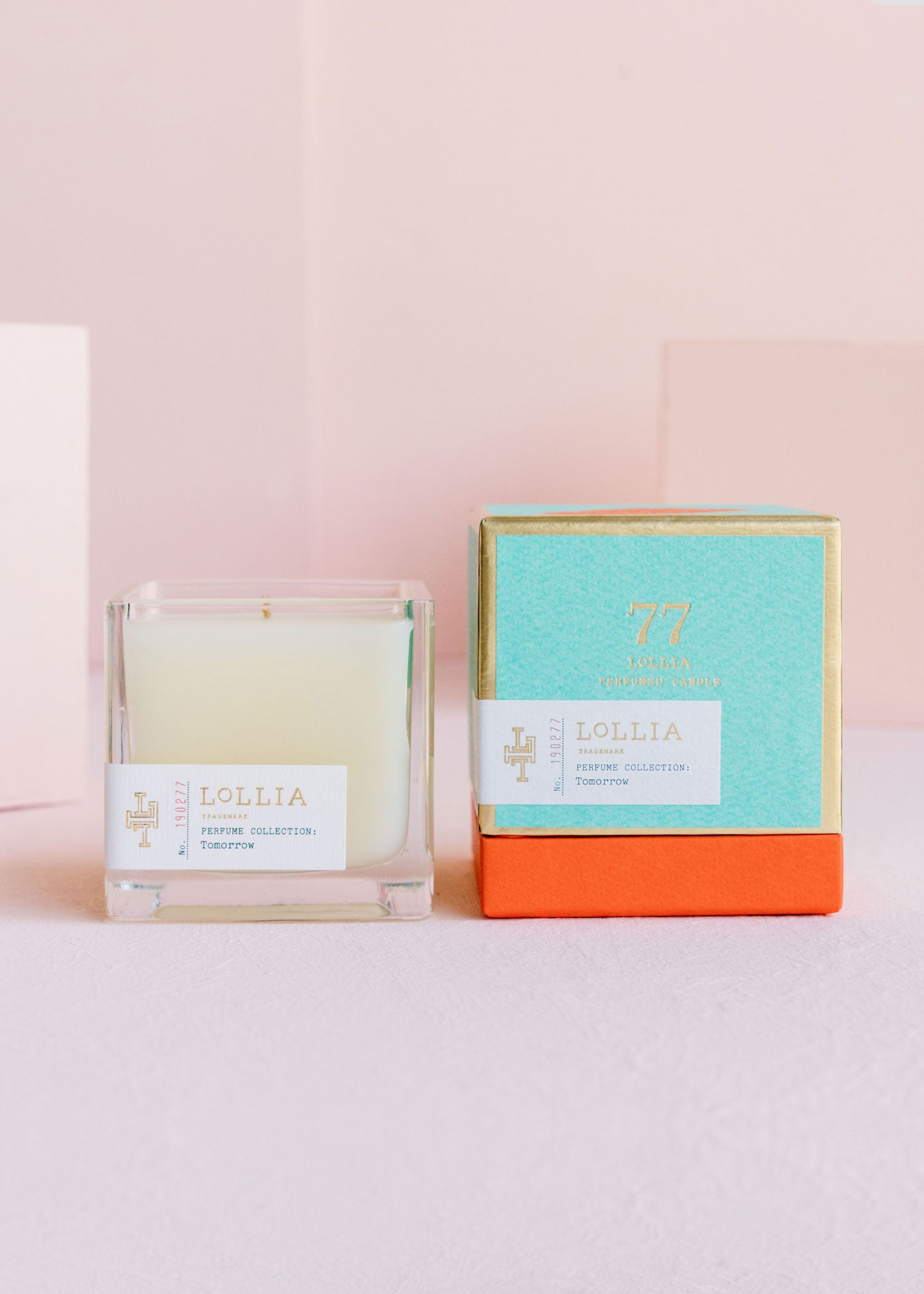 Score From The End Credits LOLLIA Poetic License Candle