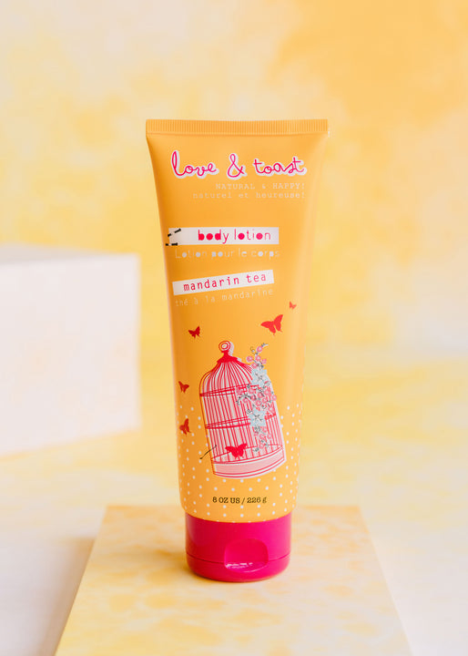 Mandarin Tea Naturally Nourishing Body Lotion | Love & Toast