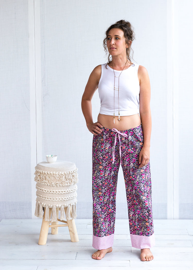 It's Wonderful/Midnight Violette Day Dreamer Lounge Pant