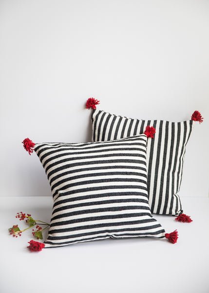 Hand-Woven Moroccan Pillows
