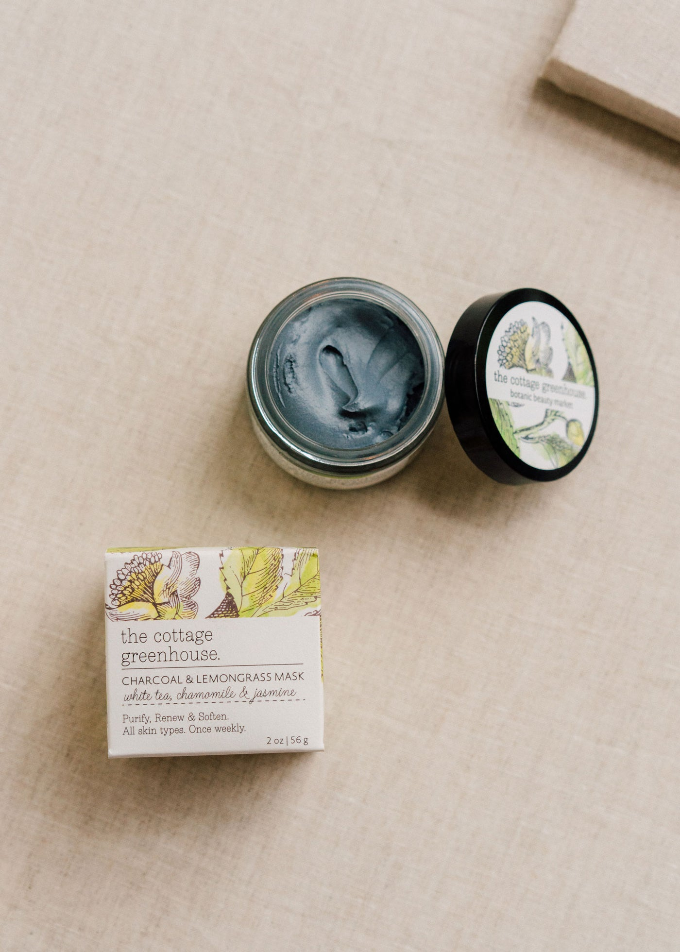 Charcoal & Lemongrass Face Mask