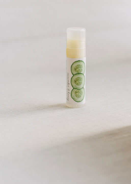 Cucumber & Honey Lip Butter