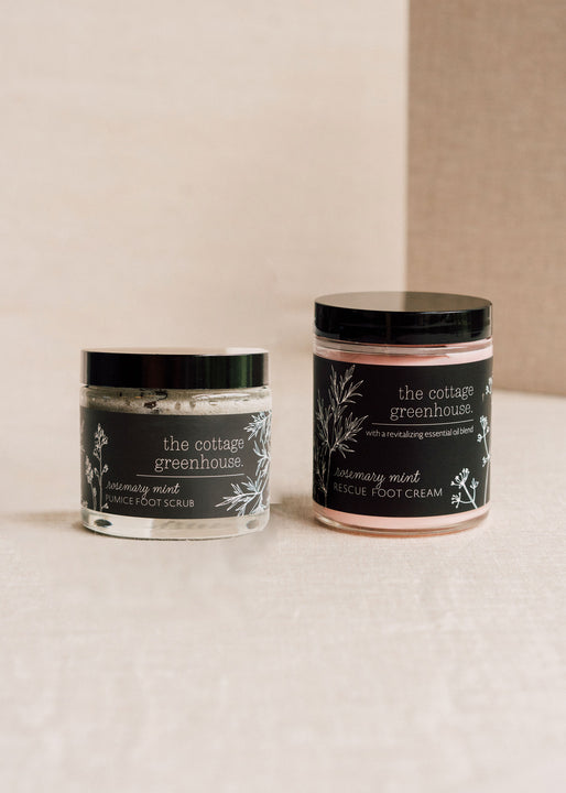 Rosemary Mint Foot Care Duo