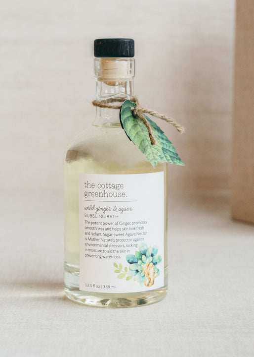 Wild Ginger & Agave Bubble Bath