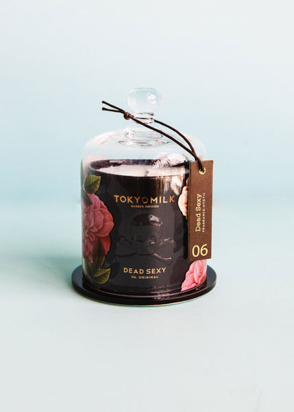 Dead Sexy Ceramic Candle with Cloche | Original