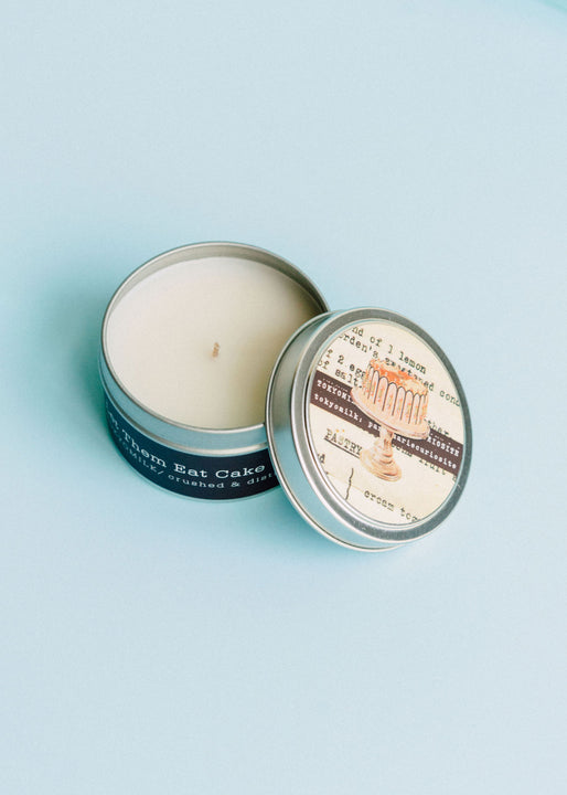 Let Them Eat Cake Scented Soy Wax Travel Tin Candle | TokyoMilk