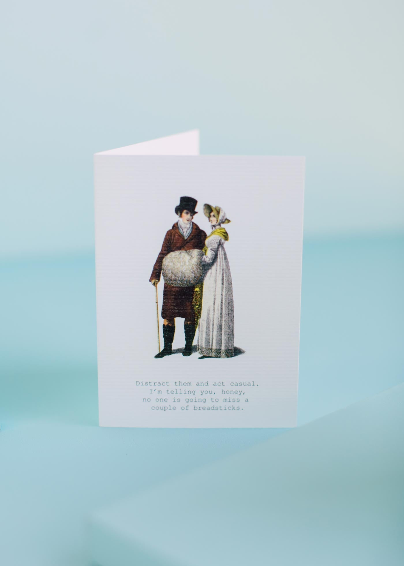 Act Casual Greeting Card