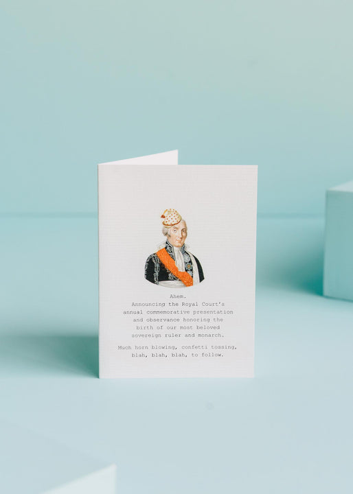 Announcing The Royal Court Greeting Card
