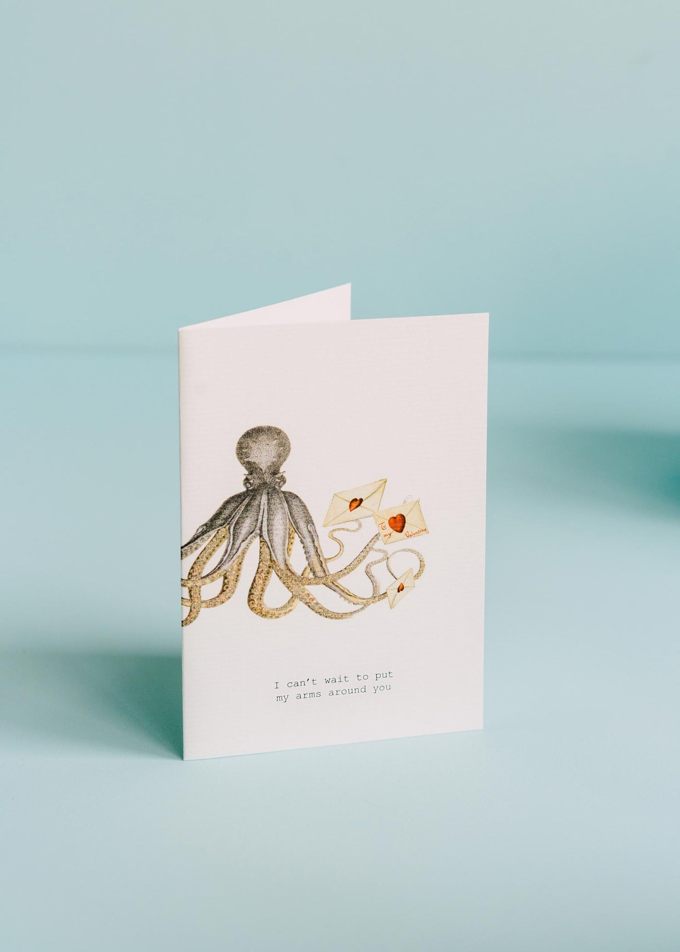 Can't Wait to Put My Arms Around You Greeting Card