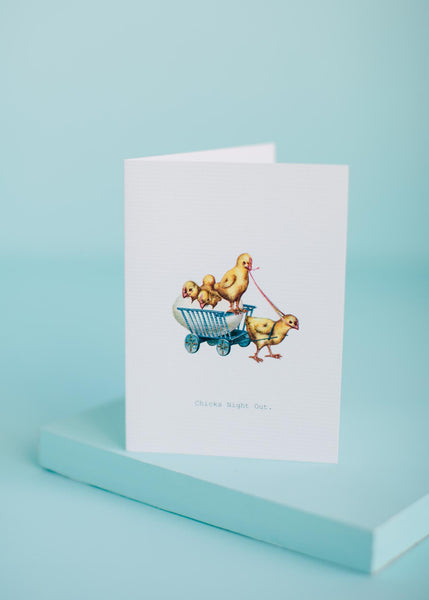 Chicks Night Out Greeting Card