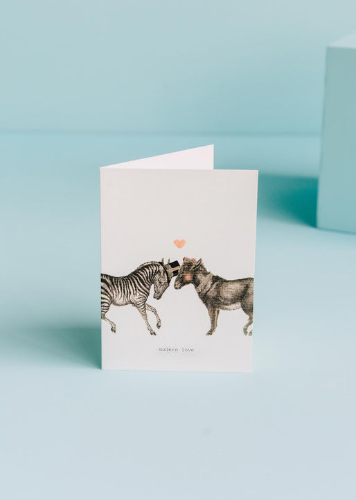Modern Love Greeting Card