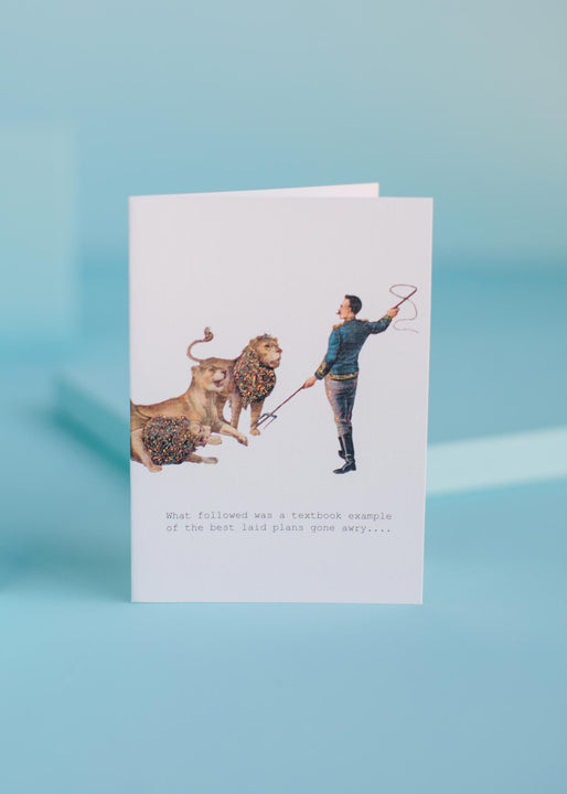 Textbook Example Greeting Card