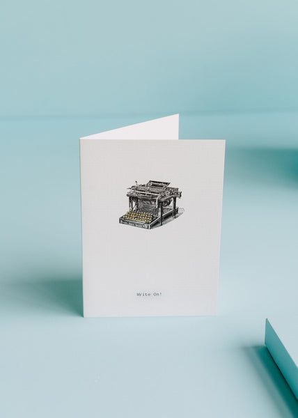 Write On Greeting Card