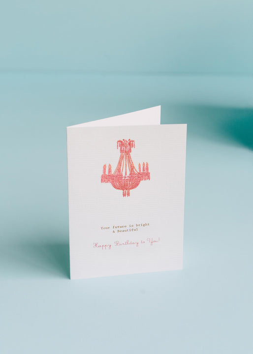 Your Future Is Bright Birthday Card