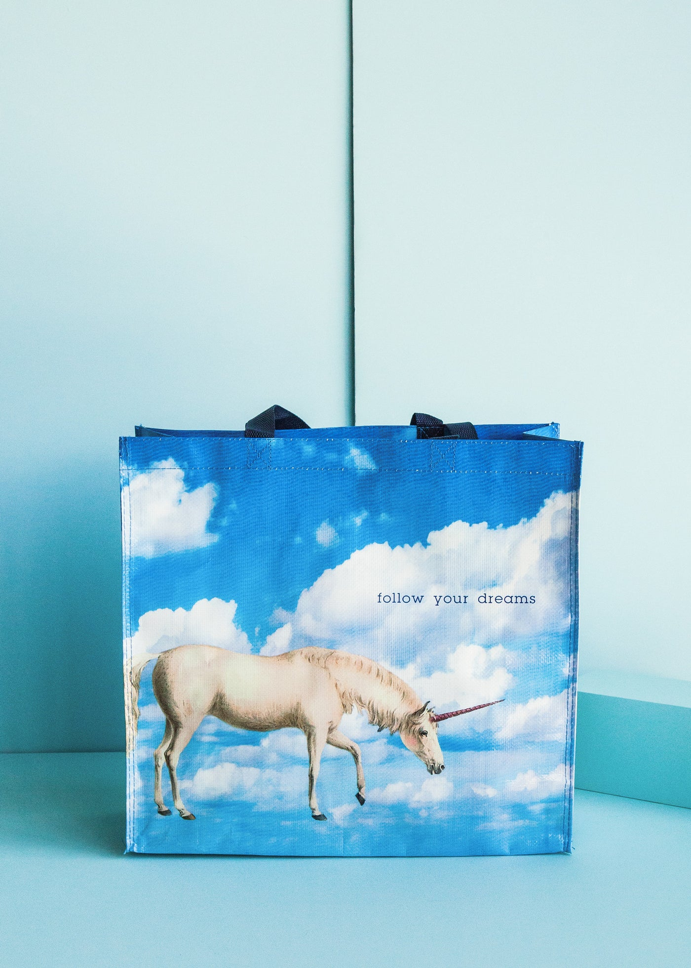 Unicorn Follow Your Dreams Market Tote