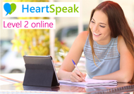 HeartSpeak Level 2 LIVE Online - 15 Sept & 22 Sept 2019 (London Time)