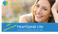 HeartSpeak Lite LIVE Online Course - (2 Parts x 3hrs each) - 17 & 18 March 2018 (Perth, WA Time)