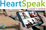 HeartSpeak Level 1 LIVE Online Course - 16 Jun & 23 Jun 2019 (London time)
