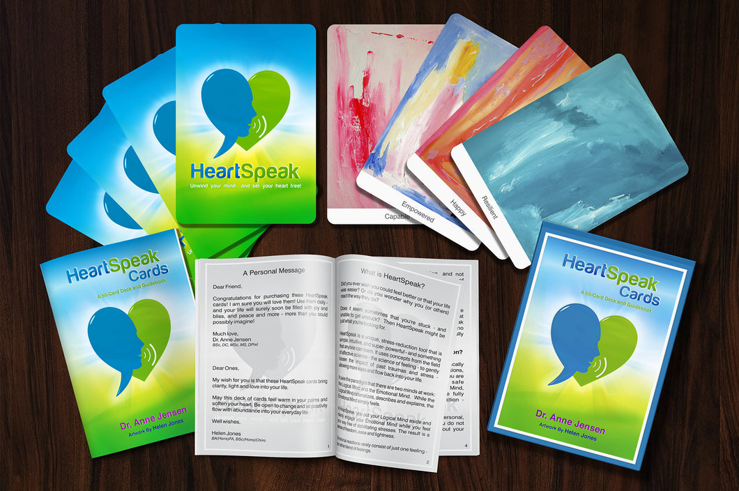 HeartSpeak Cards (1 deck)