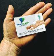 The ViP® HeartSpeak Muscle Testing Assist Card