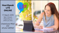 HeartSpeak Lite LIVE Online Course - (3 hours) - 17th March (9am-12noon UK Time)