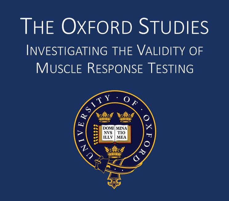 The Oxford Studies - Validating Muscle Testing