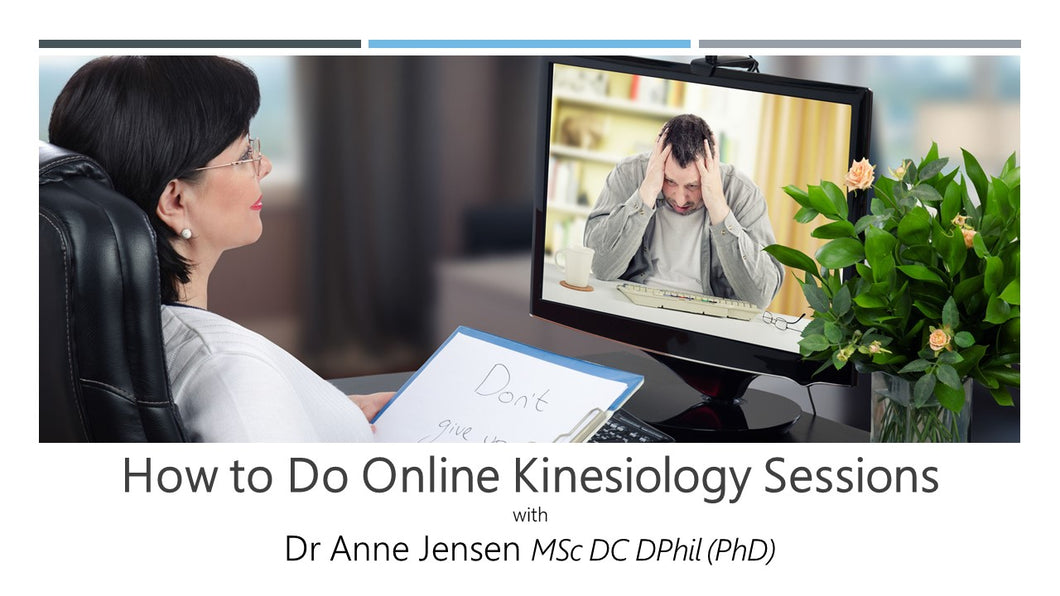 How to Do Online Kinesiology Sessions