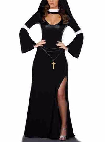 Style Free.net Sexy Party Babe Costume Halloween Women Nun
