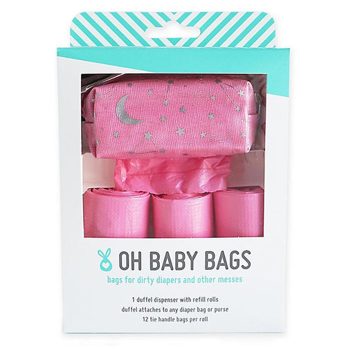 Oh Baby Bags (Duffel Gift Box - Pink Stars)