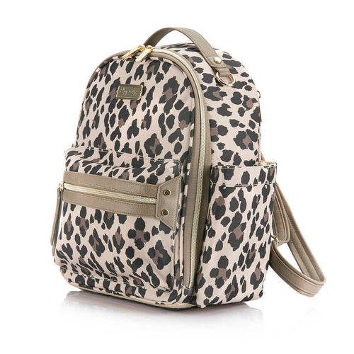 Leopard Itzy Mini Diaper Bag Backpack