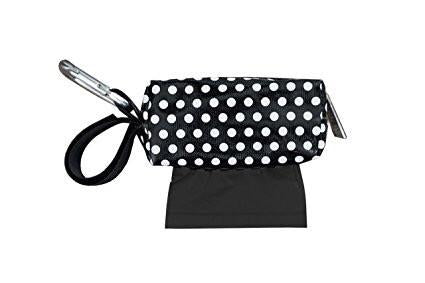 Baby Bags (Duffel Dispenser - Black Dot)