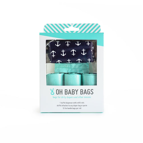 Oh Baby Bags (Duffel Gift Box - Anchors)