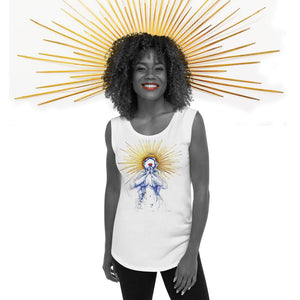 HOLINESS within US - Ladies' Cap Sleeve T-Shirt