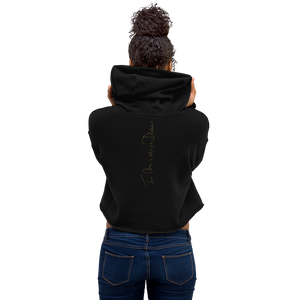 the CHILD of the DIVINE - Crop Hoodie