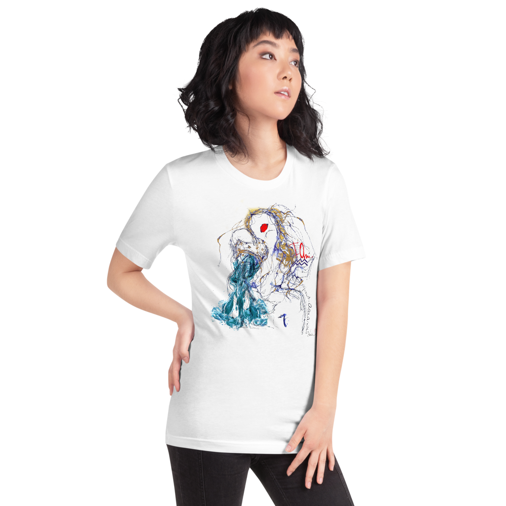 AQUARIUS - Short-Sleeve Unisex T-Shirt