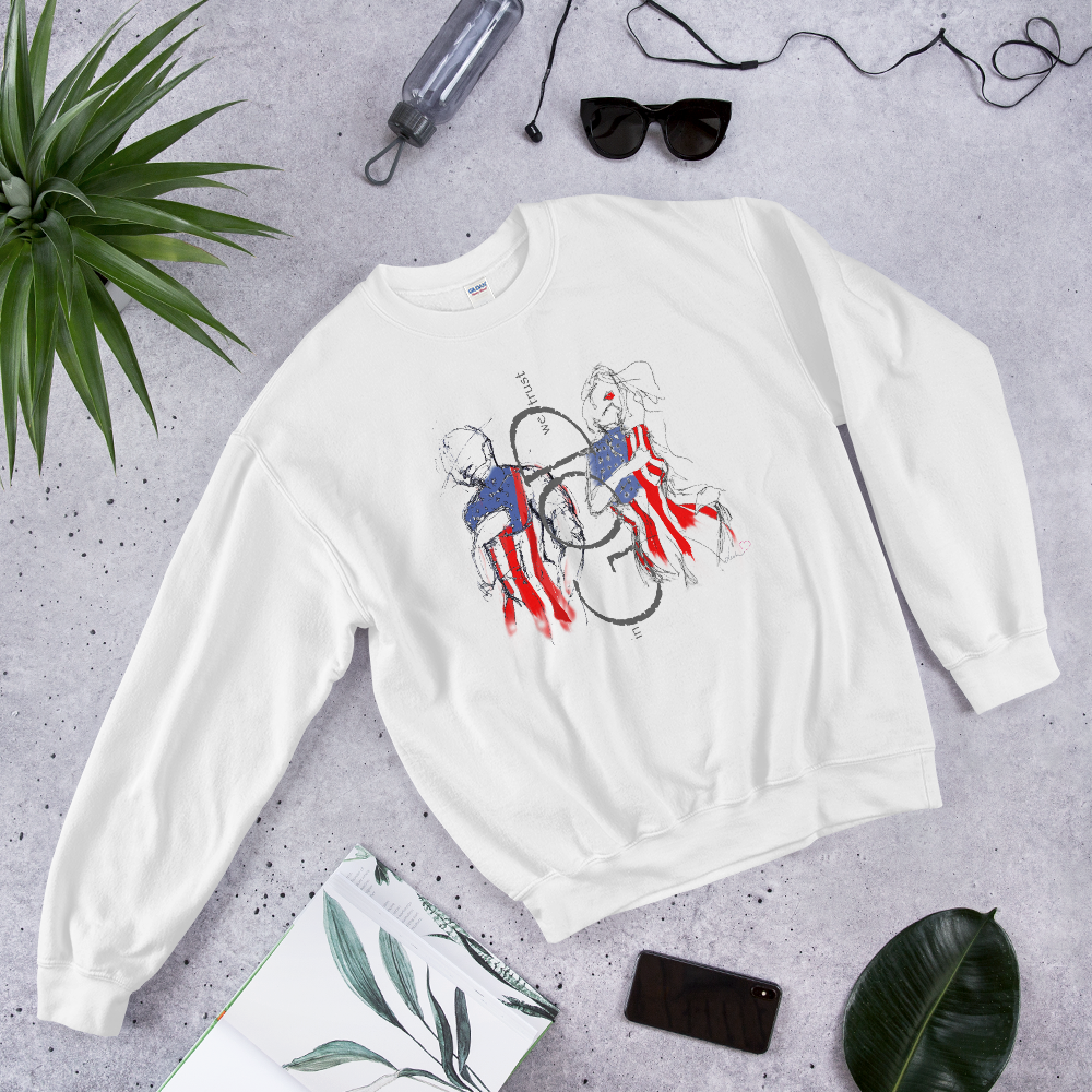 in GOD we TRUST - Unisex Sweatshirt