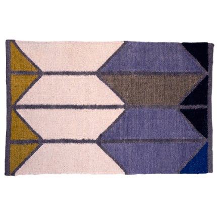 HAWKINS alyson fox shapes rug - grey combo, 4' x 6'