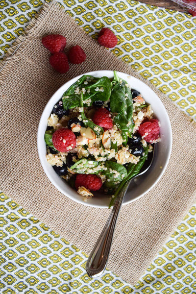 summer berry power salad recipe