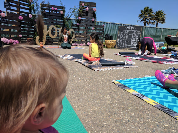 YogaFest children's yoga