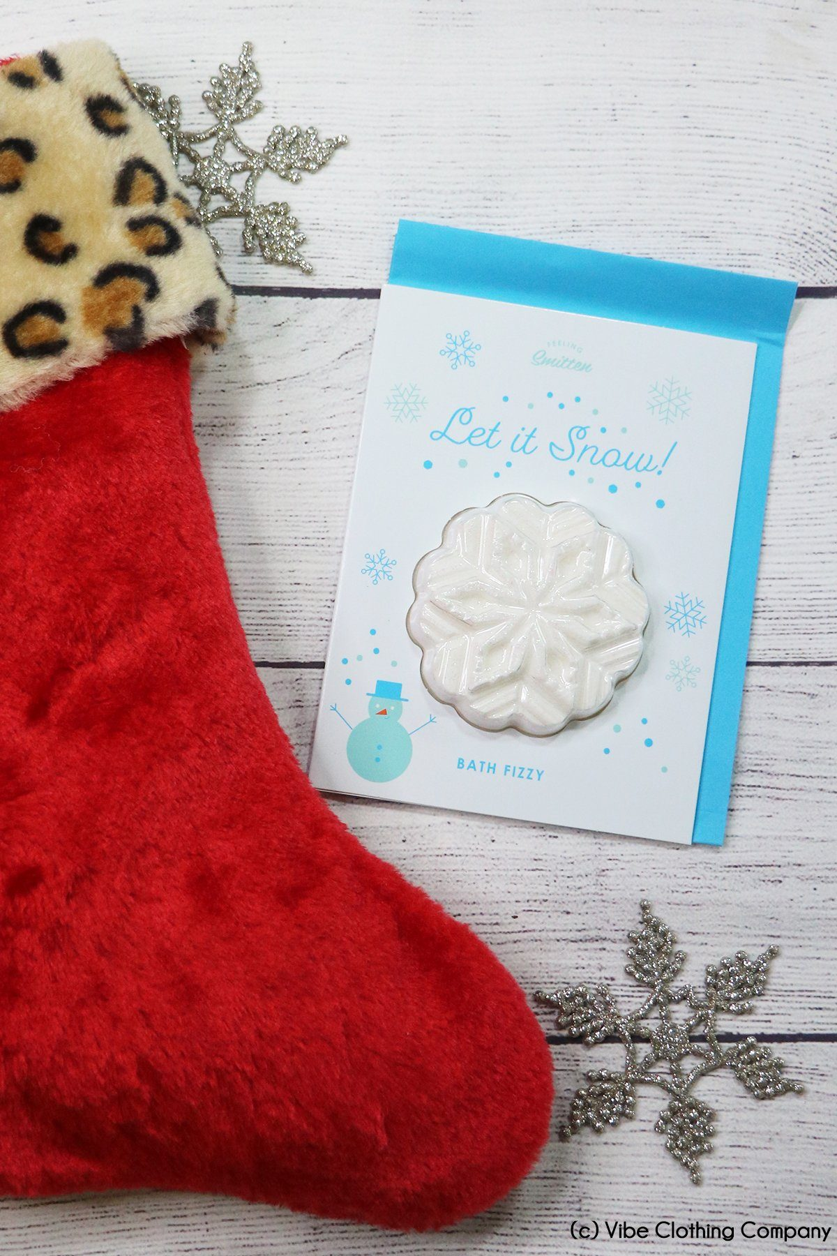 Holiday Card- Bath Bomb door buster MYS