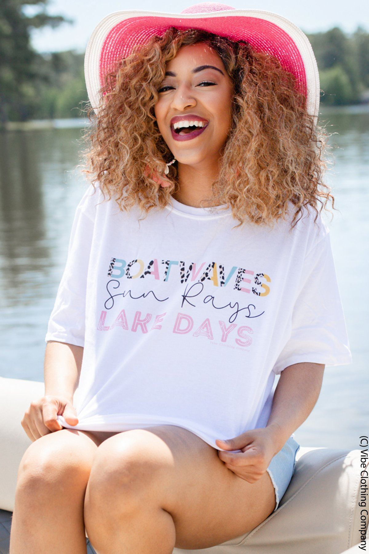 Boatwaves Graphic Tee graphic tees Mark tee