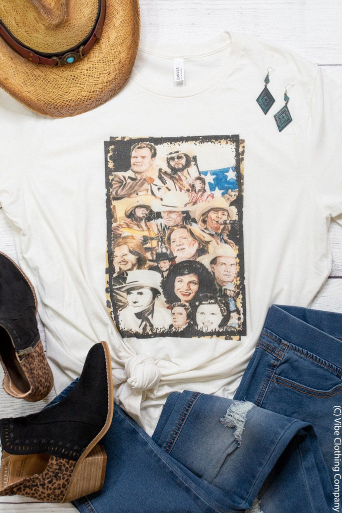 Country Greats Graphic Tee graphic tees Mark tee