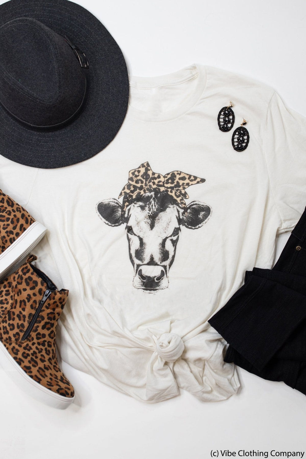 Rosie the Cow Graphic Tee