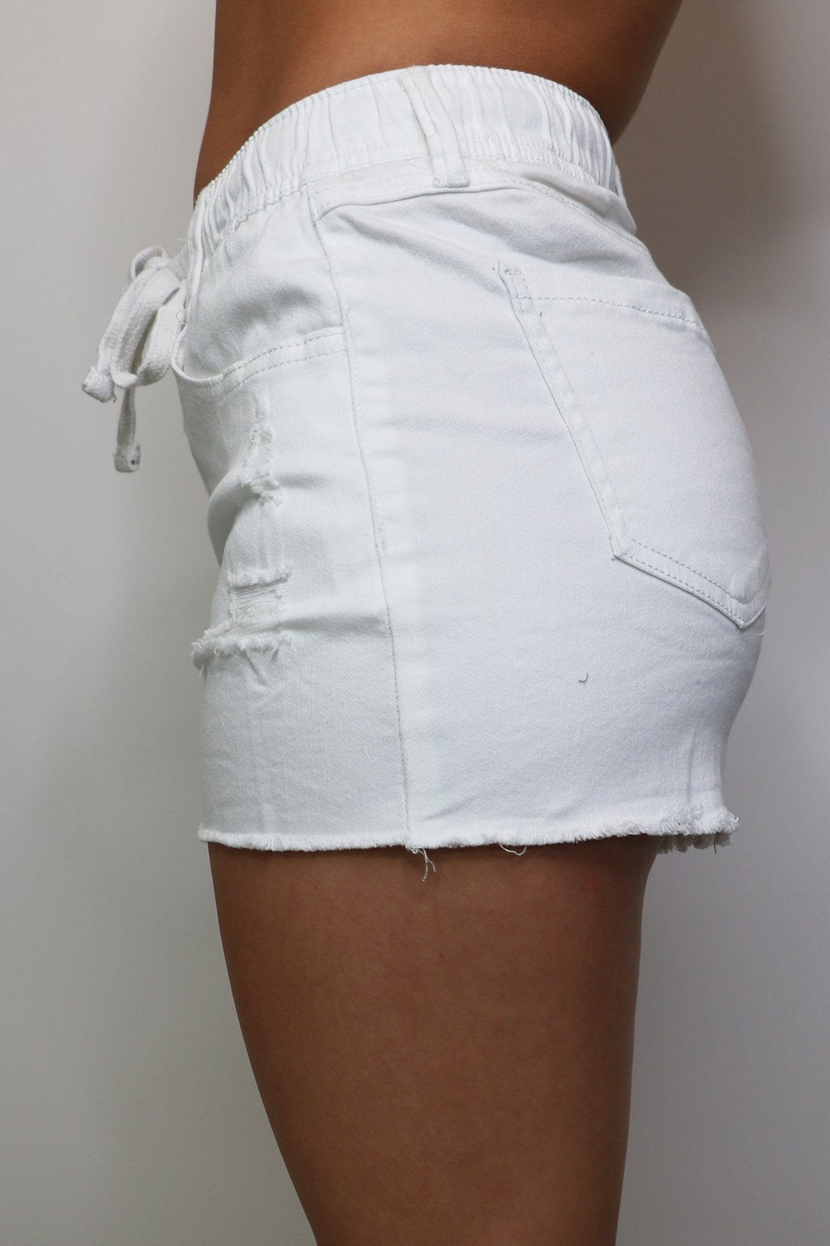 Delta Shorts - White Bottoms cest toi