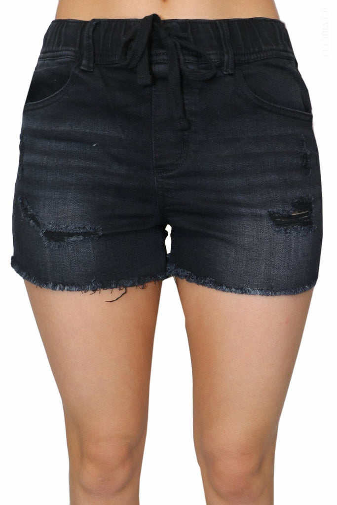 Delta Shorts - Black Bottoms cest toi