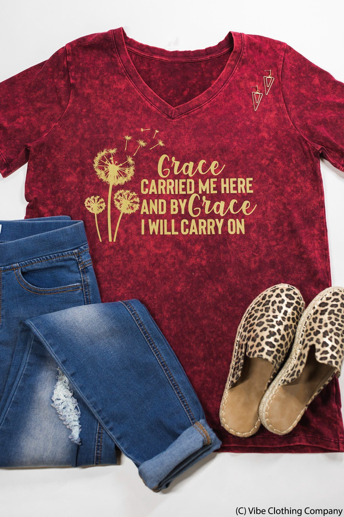 Grace Carried Me Graphic Tee graphic tees Mark