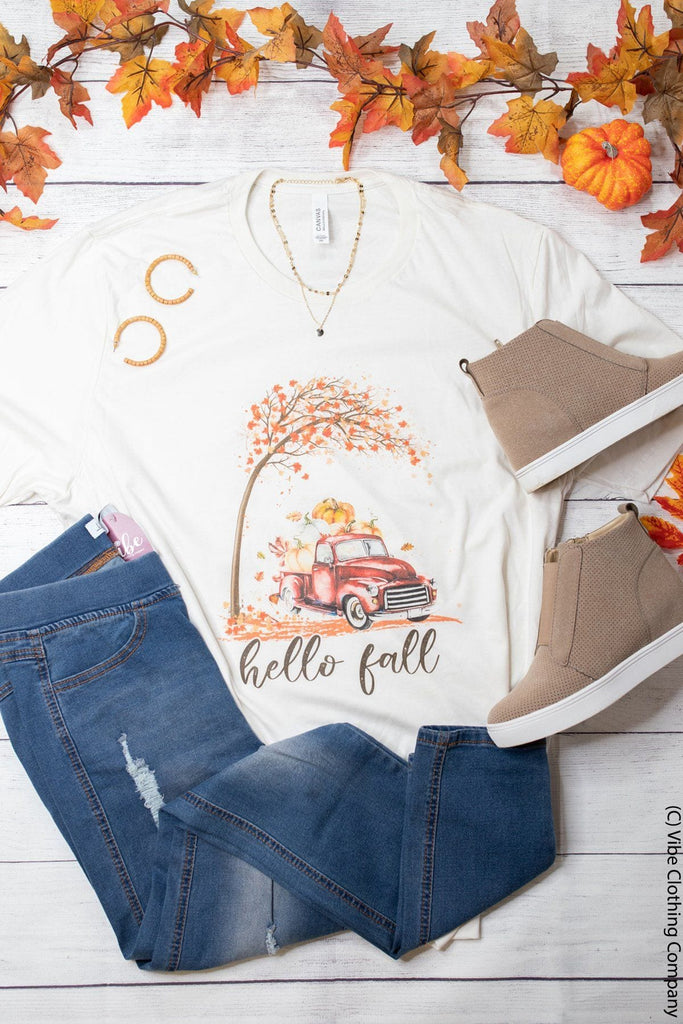 Autumn Foliage Graphic Tee