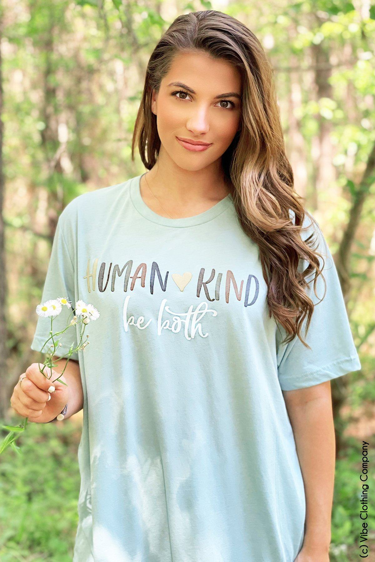 Human + Kind Graphic Tee graphic tees Mark tee
