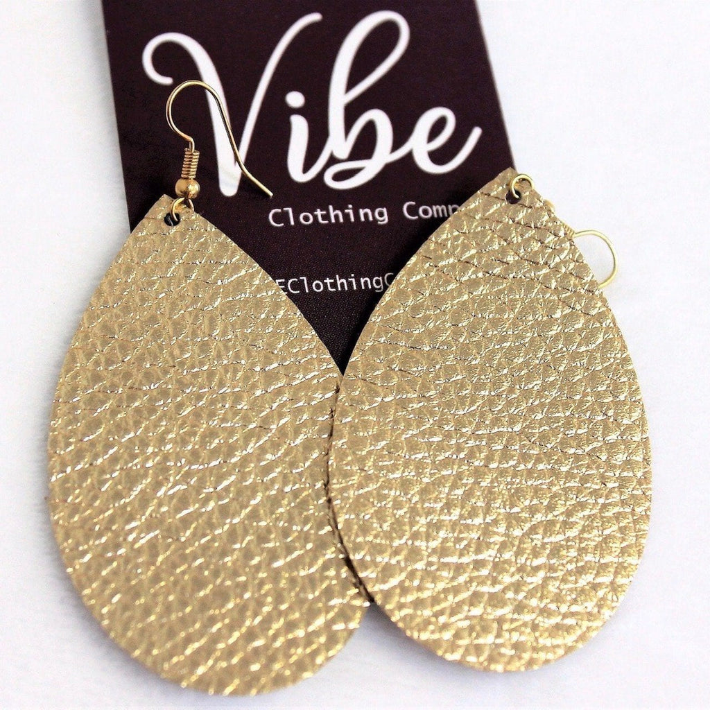 Gold Vegan Earrings