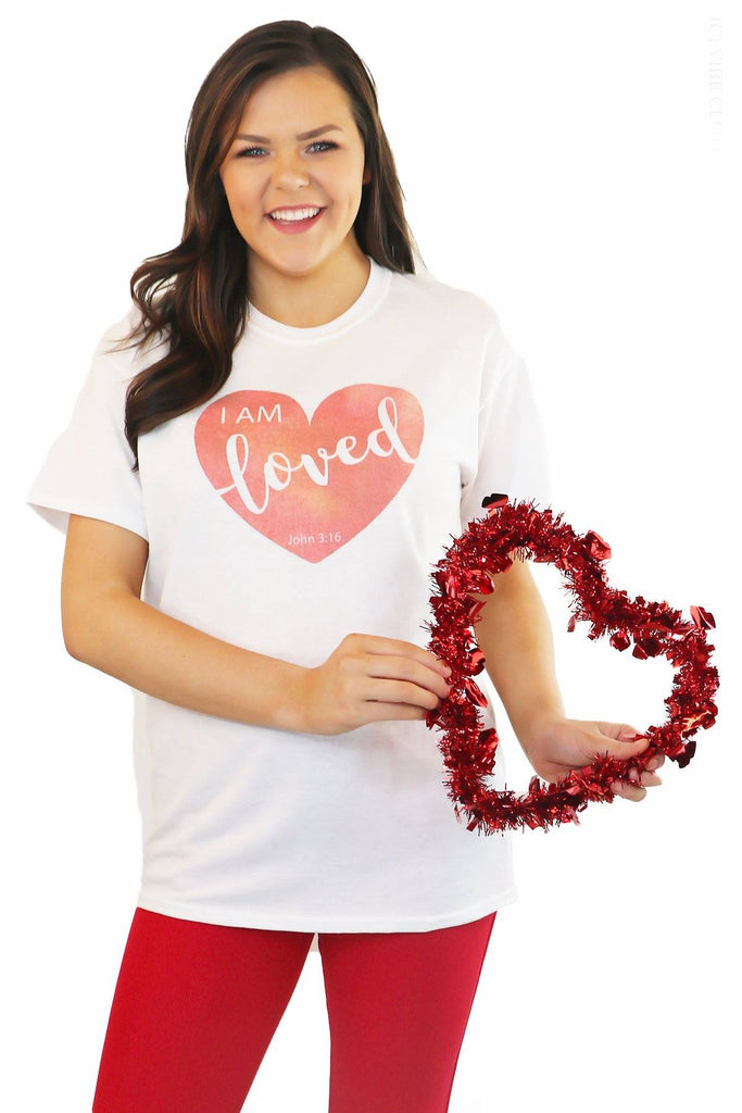 I Am Loved Graphic Tee graphic tees Mark tee